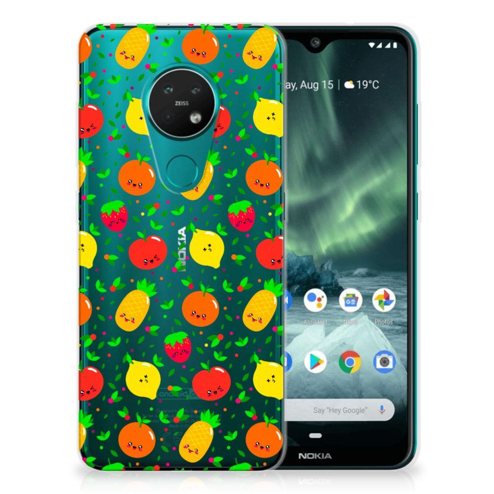Nokia 7.2 | 6.2 Siliconen Case Fruits