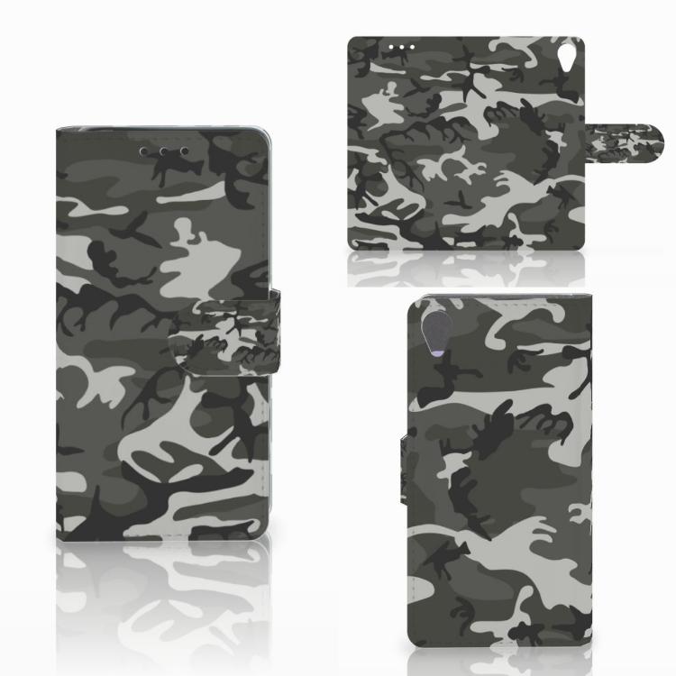 Sony Xperia X Telefoon Hoesje Army Light
