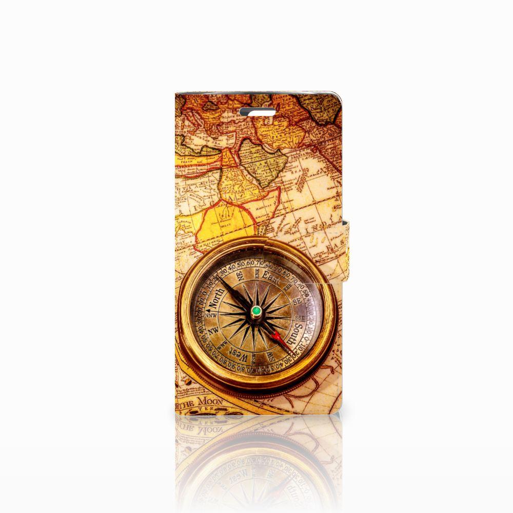 LG K10 2015 Boekhoesje Design Kompas
