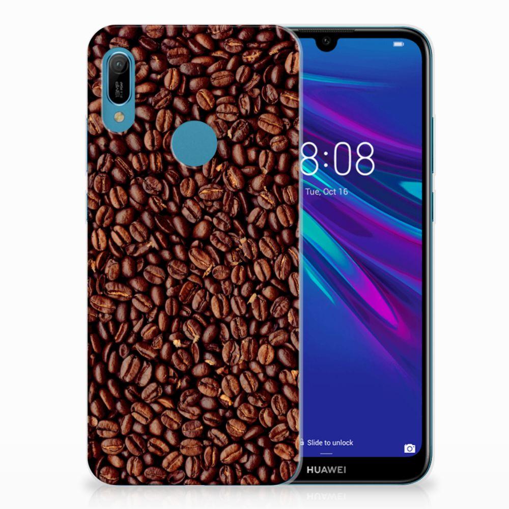 Huawei Y6 2019 | Y6 Pro 2019 Siliconen Case Koffiebonen