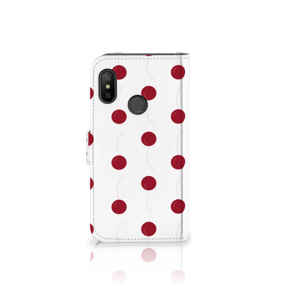 Xiaomi Mi A2 Lite Book Cover Cherries