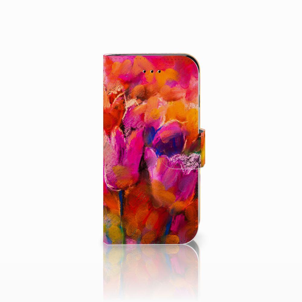 Hoesje Apple iPhone 6   6s Tulips