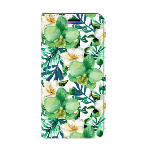 Apple iPhone X | Xs Smart Cover Orchidee Groen