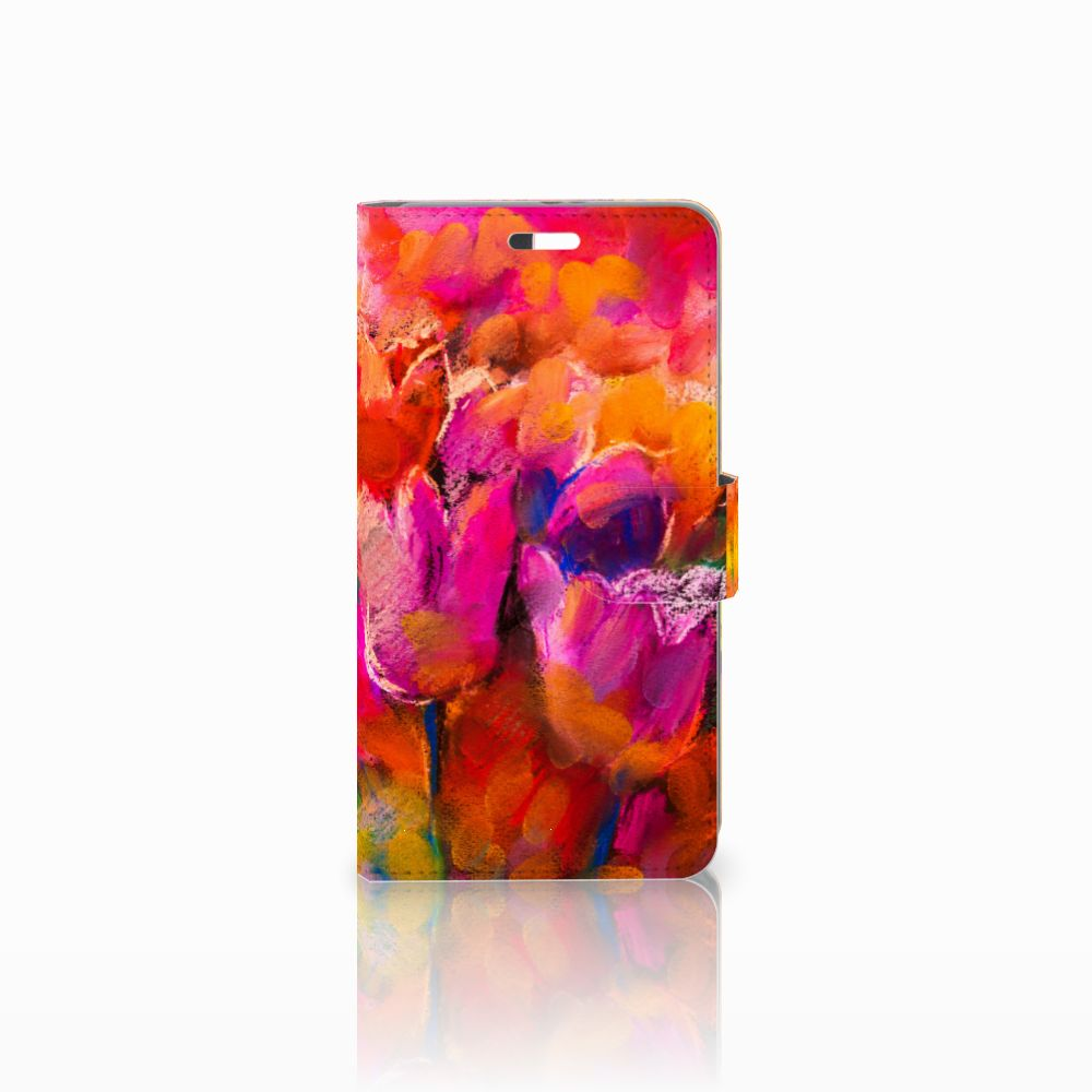 Huawei P9 Plus Boekhoesje Design Tulips