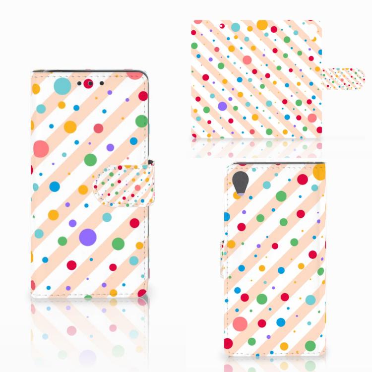 Sony Xperia X Telefoon Hoesje Dots