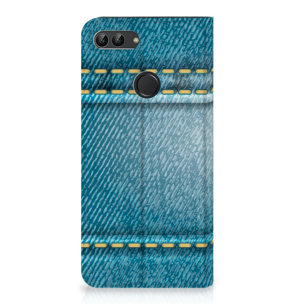 Huawei P Smart Standcase Hoesje Design Jeans