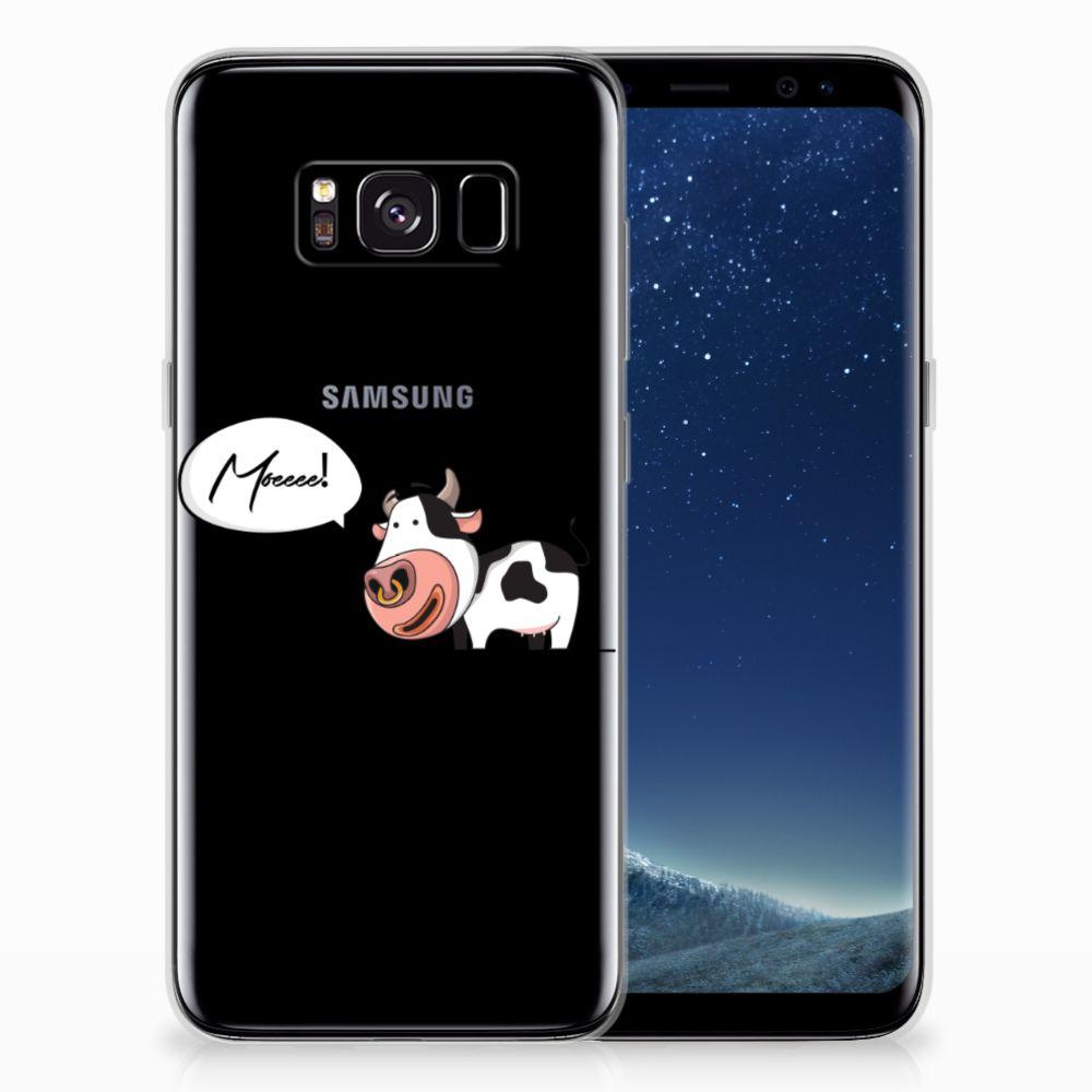 Samsung Galaxy S8 Telefoonhoesje met Naam Cow