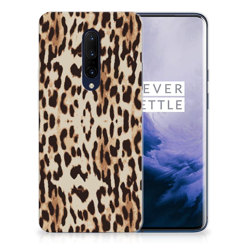 OnePlus 7 Pro TPU Hoesje Leopard
