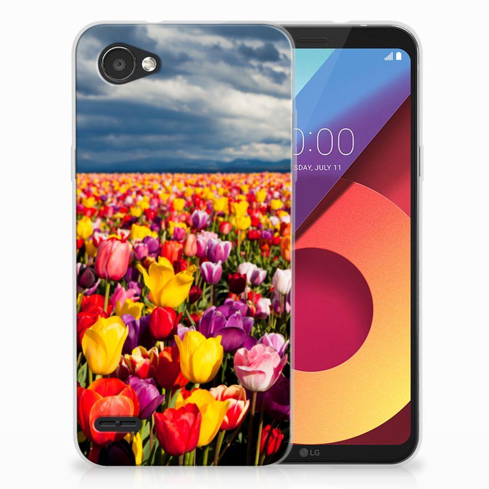 LG Q6 | LG Q6 Plus Uniek TPU Hoesje Tulpen