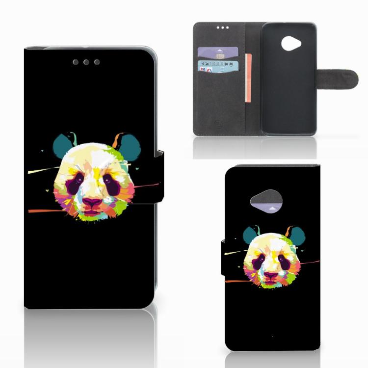 HTC U11 Life Leuk Hoesje Panda Color