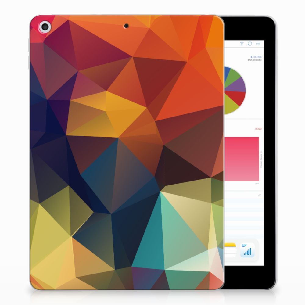 Apple iPad 9.7 2018 | 2017 Back Cover Polygon Color