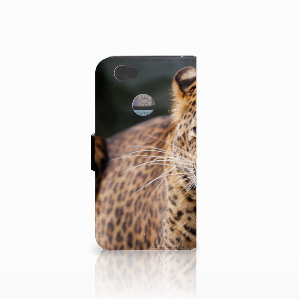 Huawei Nova Telefoonhoesje met Pasjes Luipaard