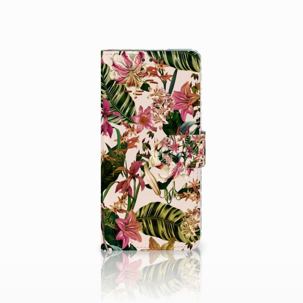 Huawei Mate 20 Uniek Boekhoesje Flowers
