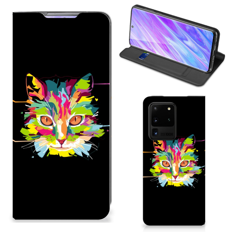 Samsung Galaxy S20 Ultra Magnet Case Cat Color
