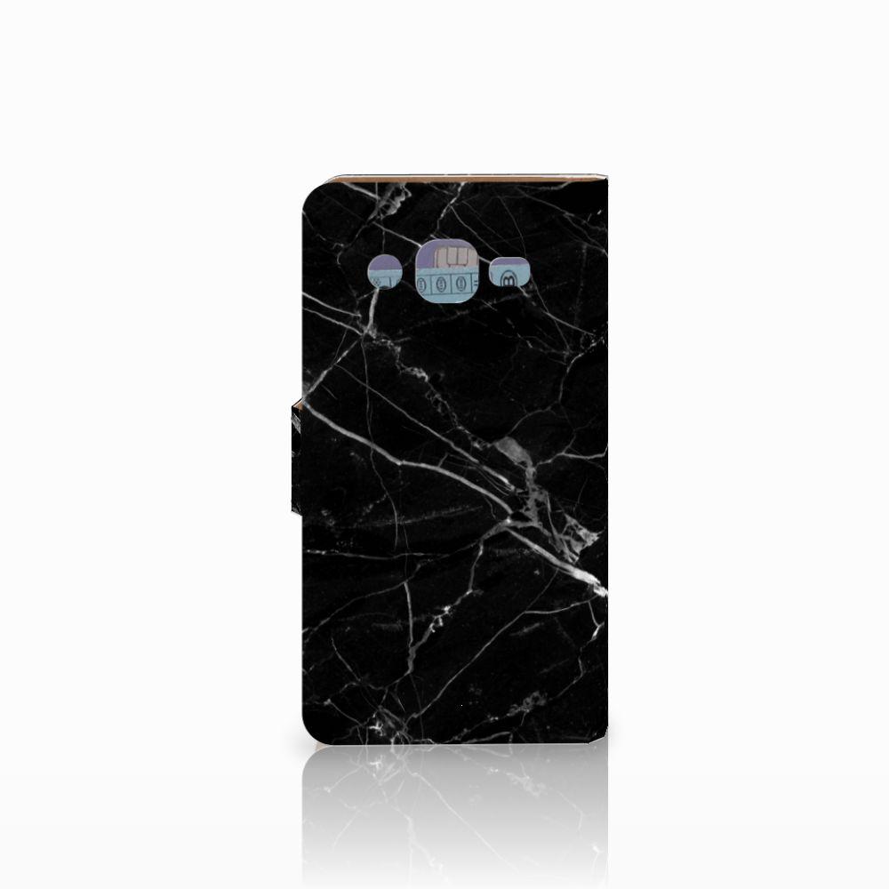 Samsung Galaxy J2 (2015) Bookcase Marmer Zwart