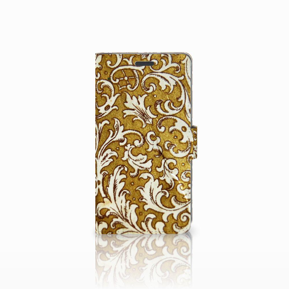 LG X Power Boekhoesje Design Barok Goud