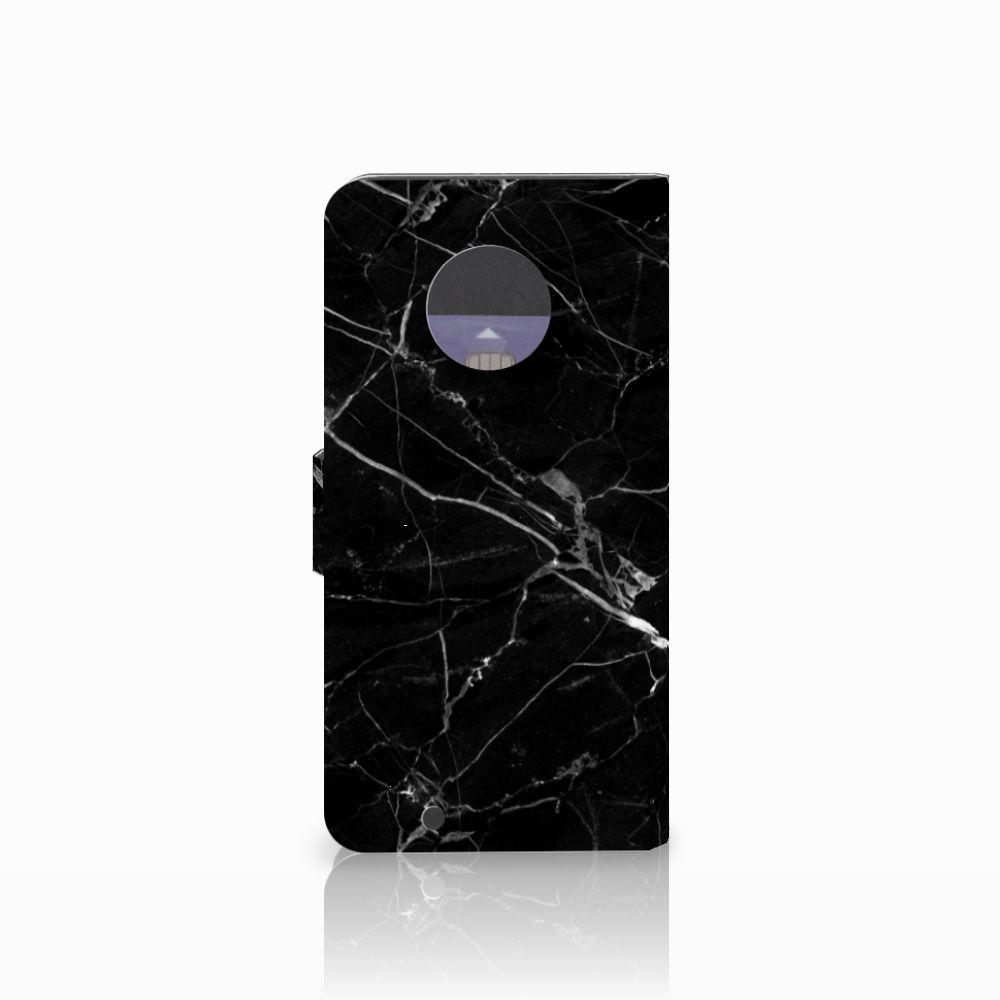 Motorola Moto G6 Bookcase Marmer Zwart
