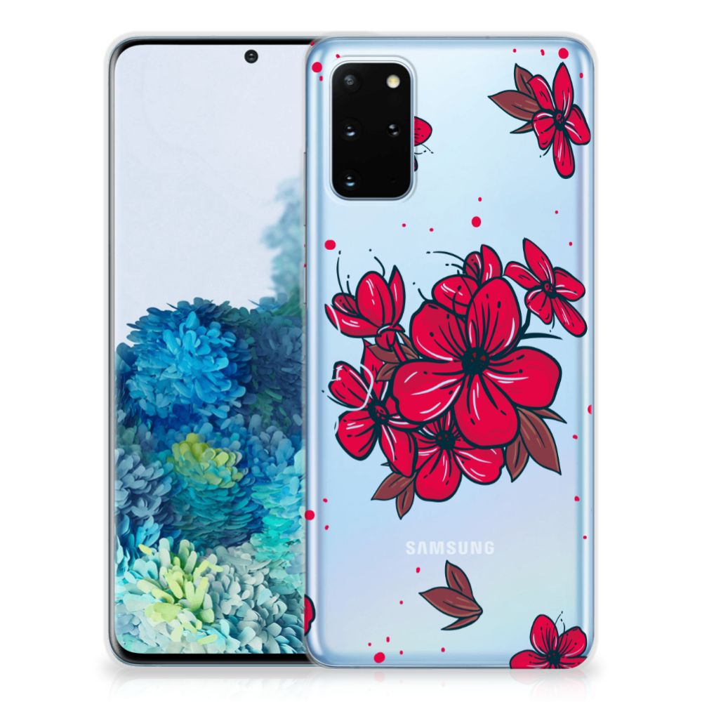 Samsung Galaxy S20 Plus TPU Case Blossom Red