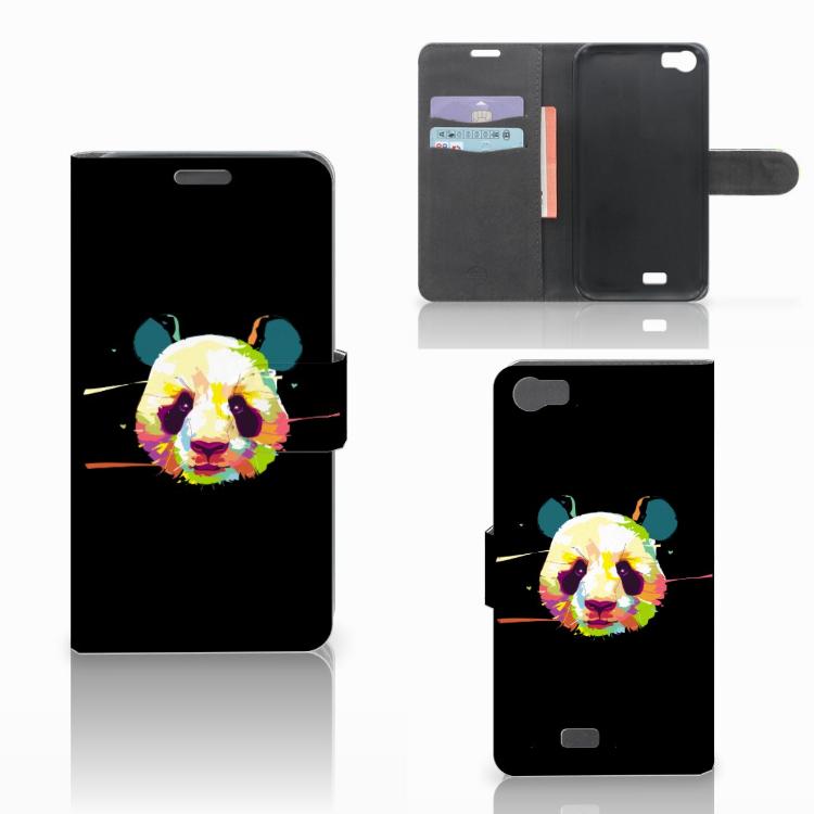 Wiko Lenny Leuke Hoesje Panda Color