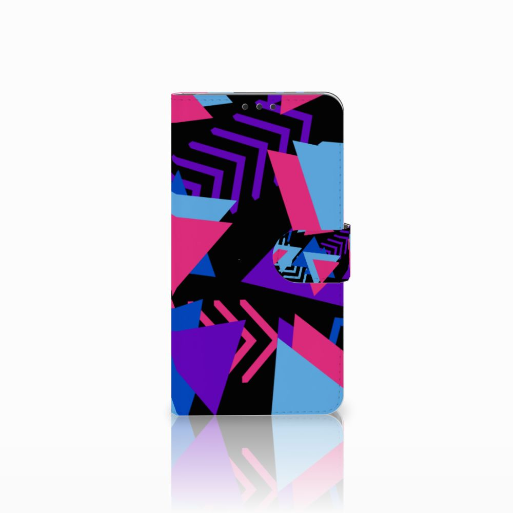 Microsoft Lumia 640 XL Bookcase Funky Triangle