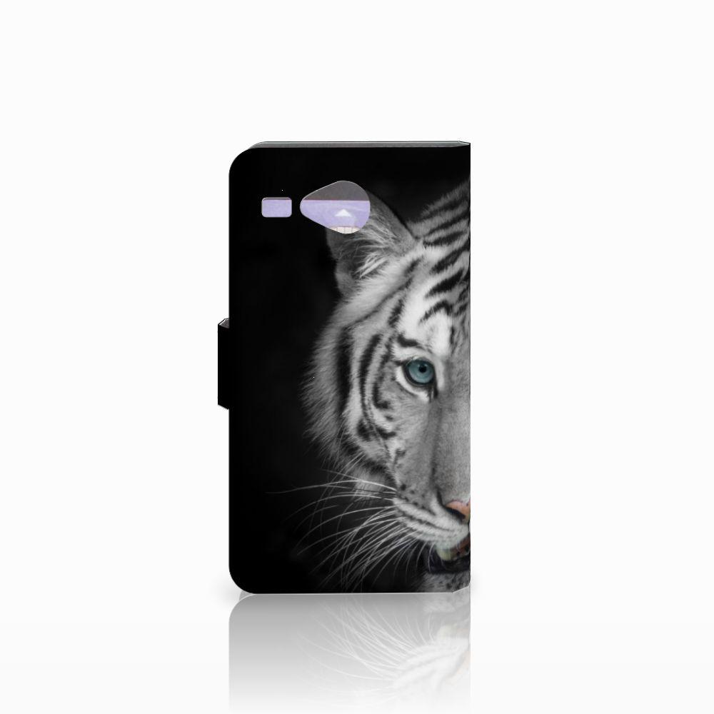 Acer Liquid Z520 Telefoonhoesje met Pasjes Tijger