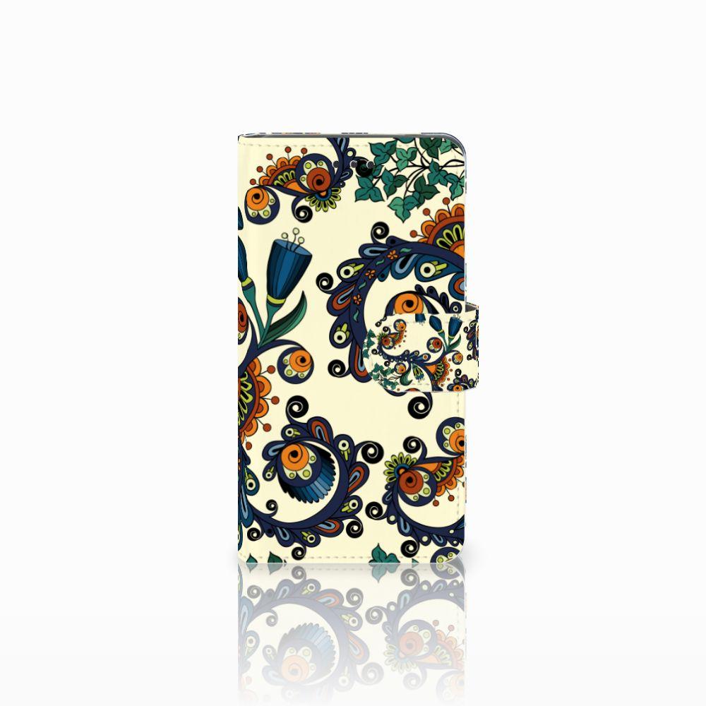 Nokia 7 Boekhoesje Design Barok Flower