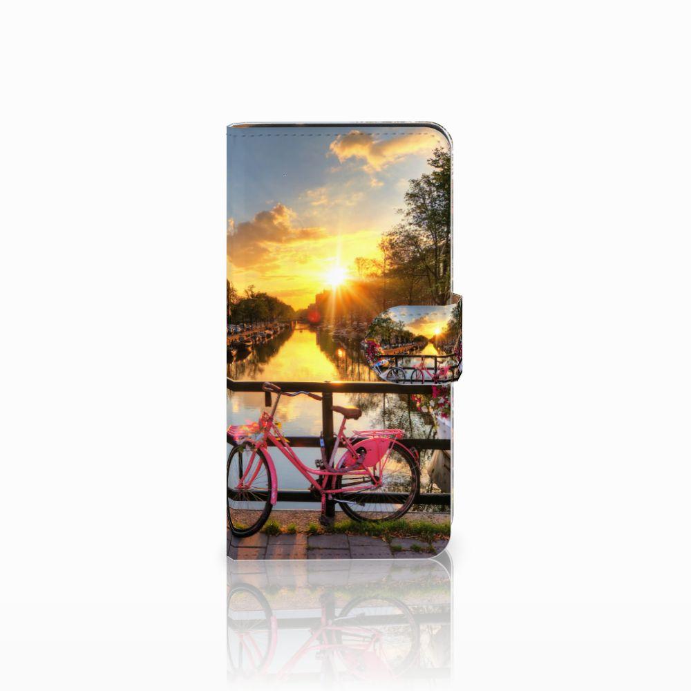 Samsung Galaxy J2 2016 Uniek Boekhoesje Amsterdamse Grachten