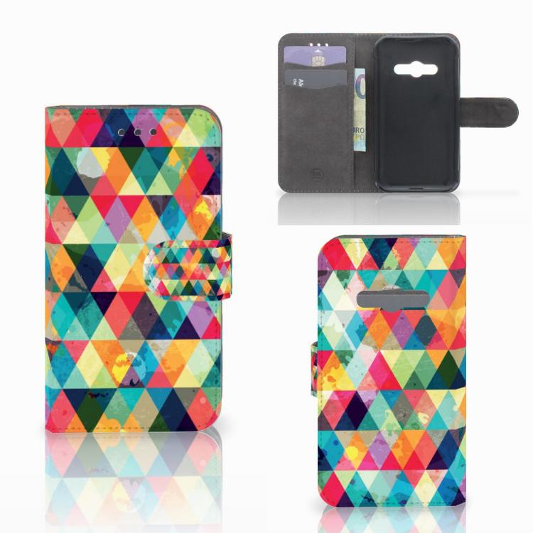 Samsung Galaxy Xcover 3 | Xcover 3 VE Telefoon Hoesje Geruit