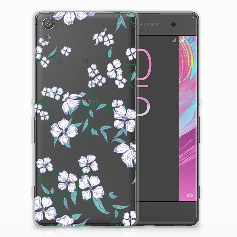 Sony Xperia XA | XA Dual Uniek TPU Hoesje Blossom White