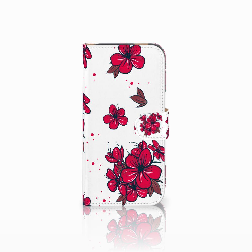 HTC One M8 Boekhoesje Design Blossom Red