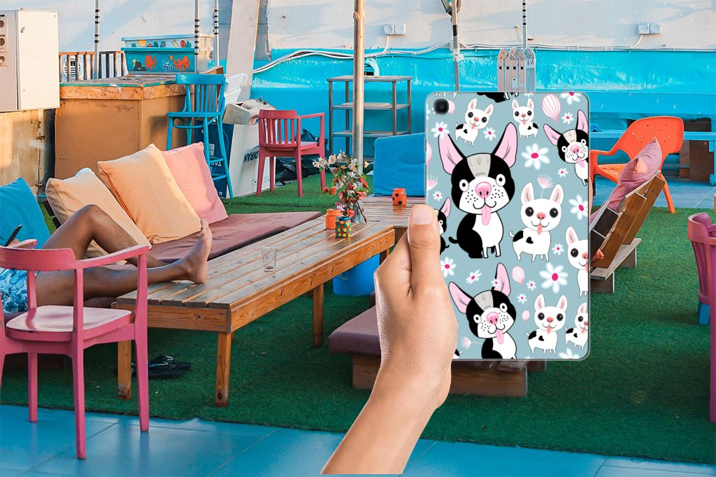 Samsung Galaxy Tab A 8.0 (2019) Back Case Hondjes