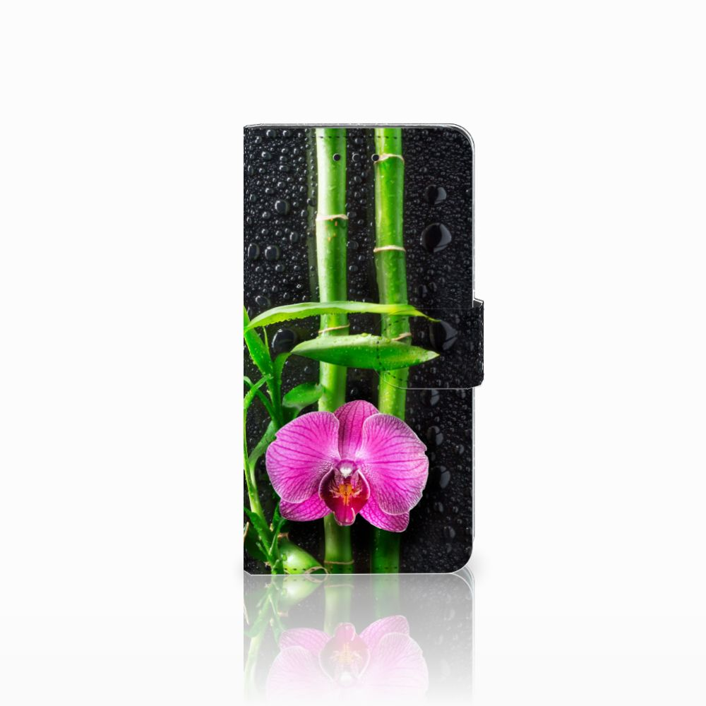 Huawei Y5 2018 Hoesje Orchidee