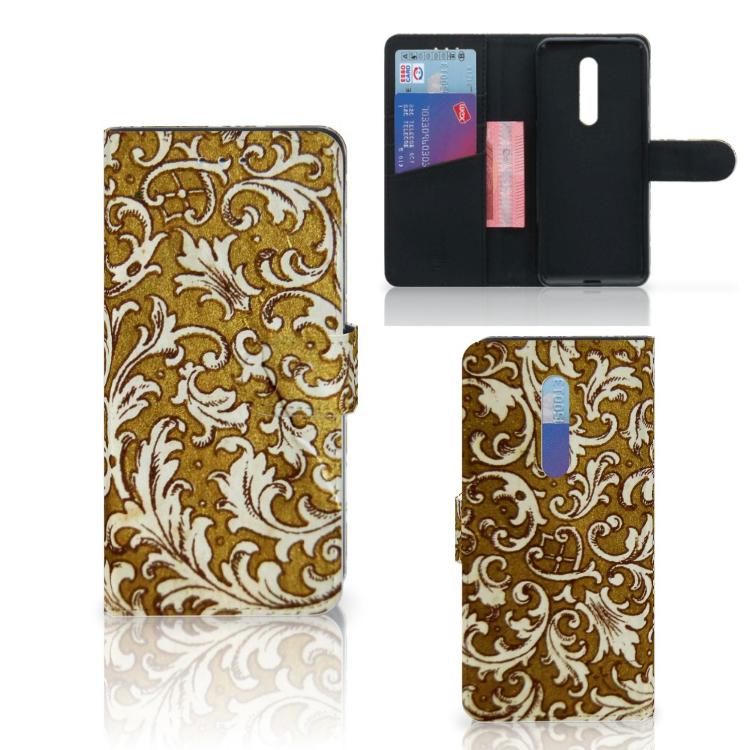 Wallet Case Xiaomi Mi 9T Pro Barok Goud