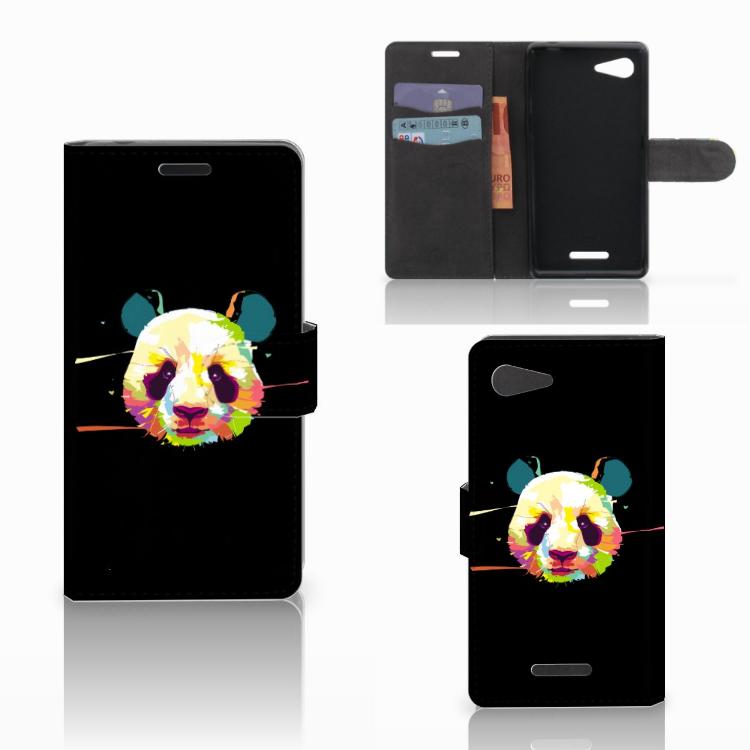 Sony Xperia E3 Leuke Hoesje Panda Color