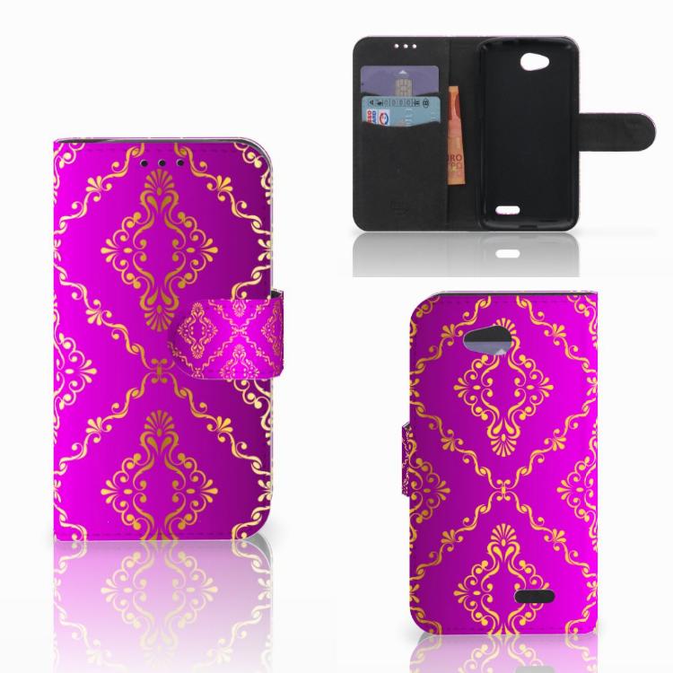 Wallet Case LG L90 Barok Roze