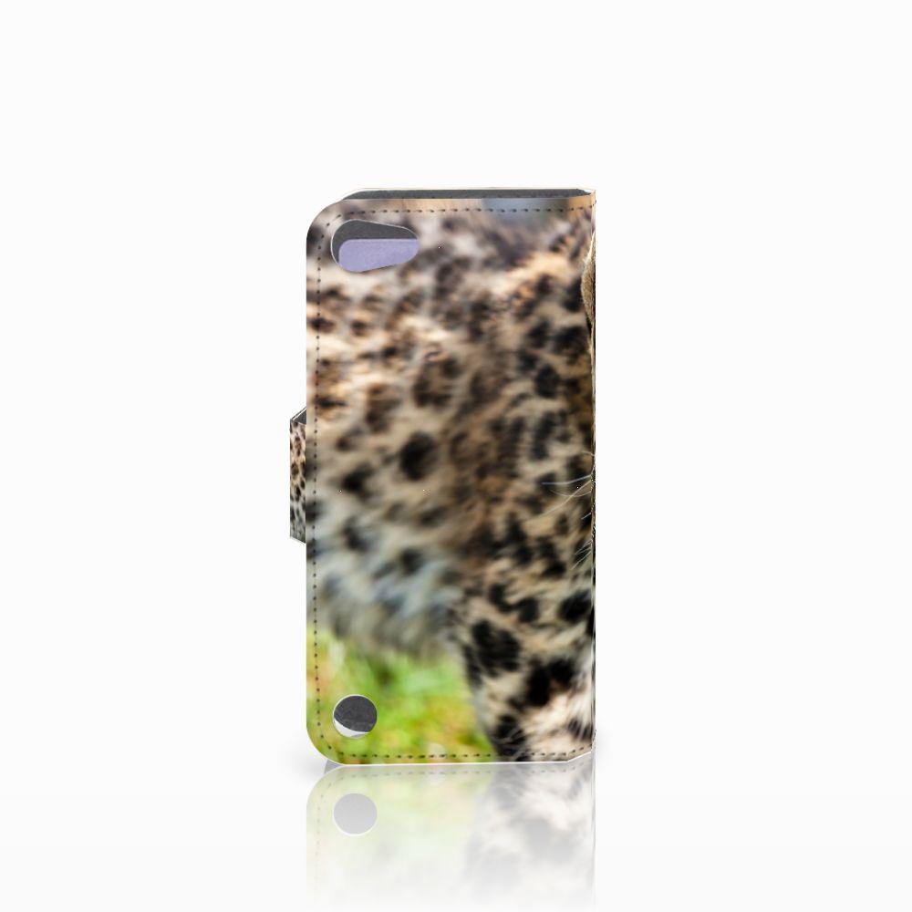 Apple iPod Touch 5 | 6 | iPod (2019) Telefoonhoesje met Pasjes Baby Luipaard