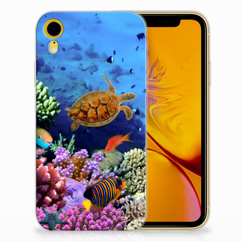 Apple iPhone Xr TPU Hoesje Design Vissen