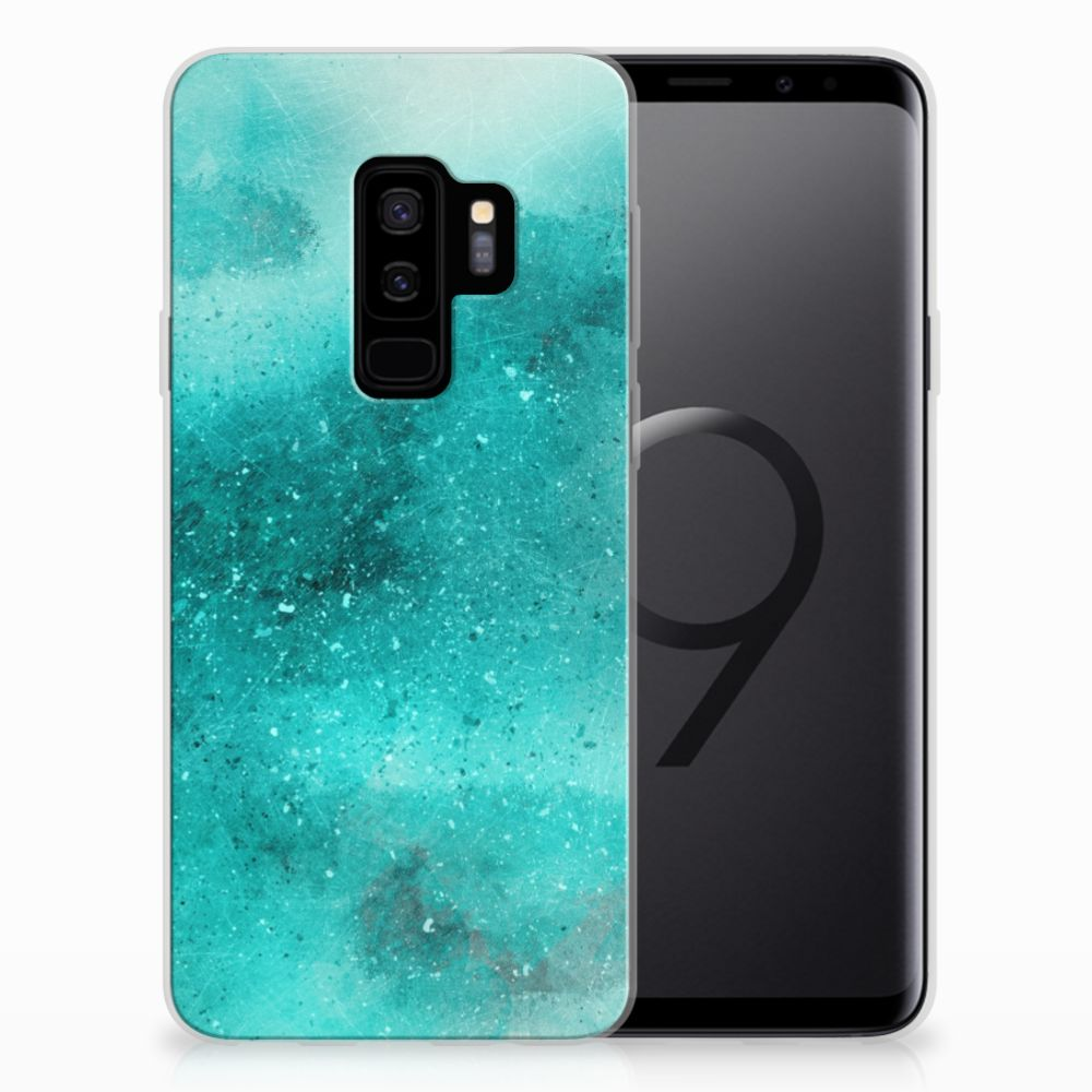 Hoesje maken Samsung Galaxy S9 Plus Painting Blue