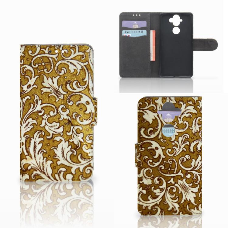 Wallet Case Nokia 8 Sirocco | Nokia 9 Barok Goud