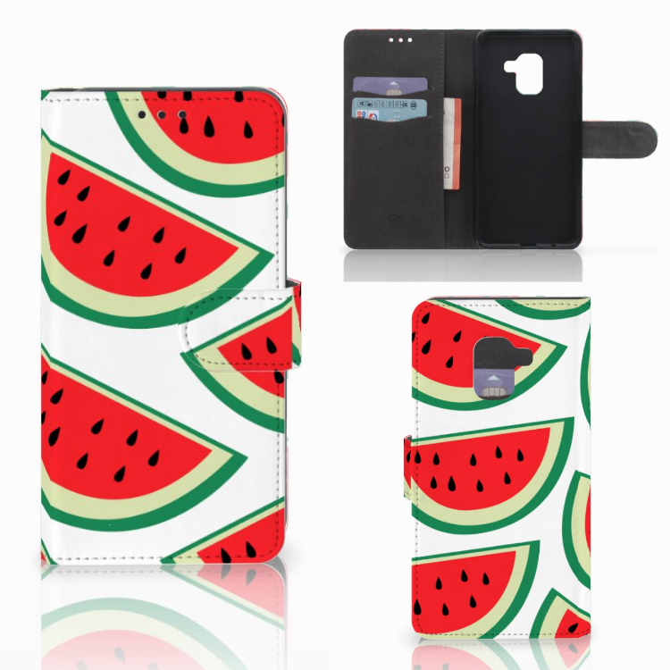 Samsung Galaxy A8 2018 Book Cover Watermelons