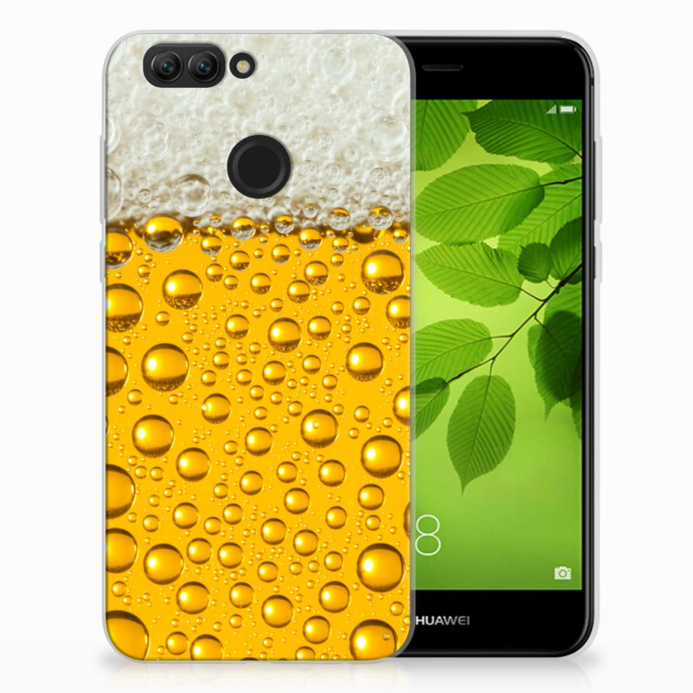 Huawei Nova 2 Siliconen Case Bier