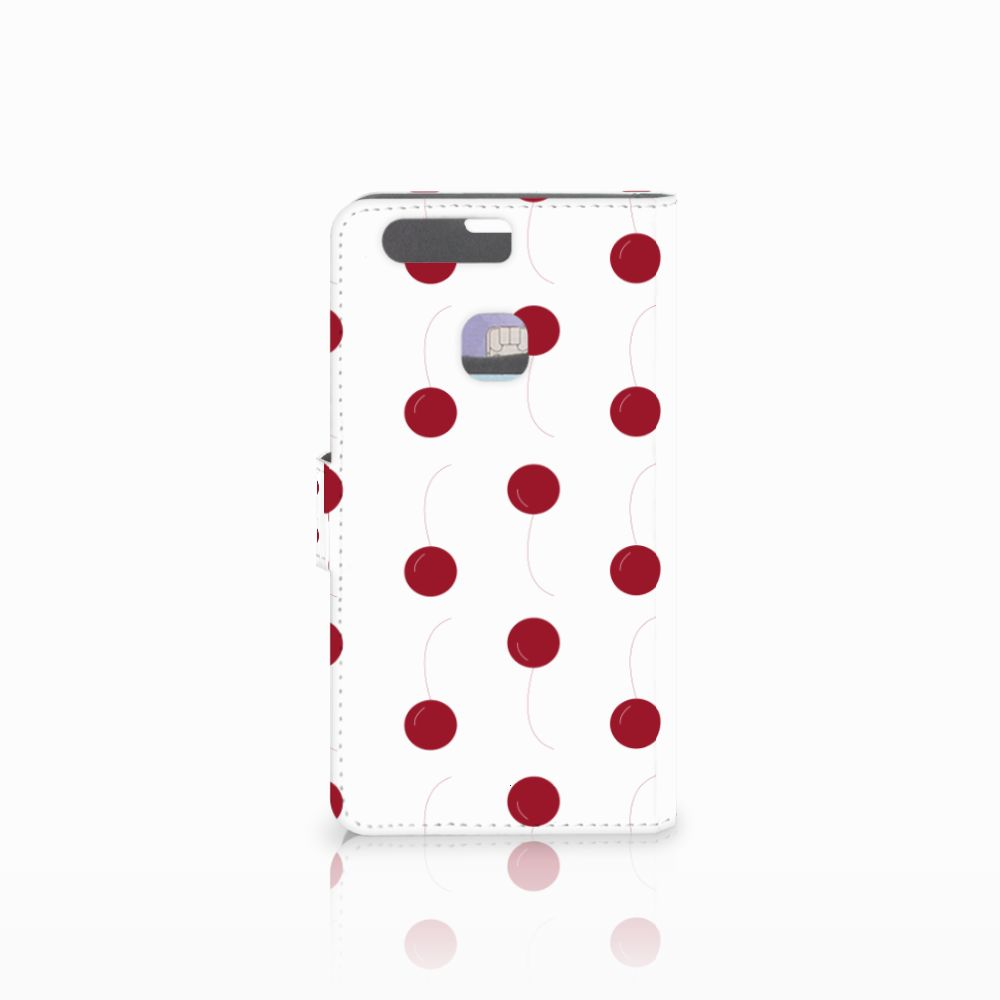 Huawei P9 Plus Book Cover Cherries