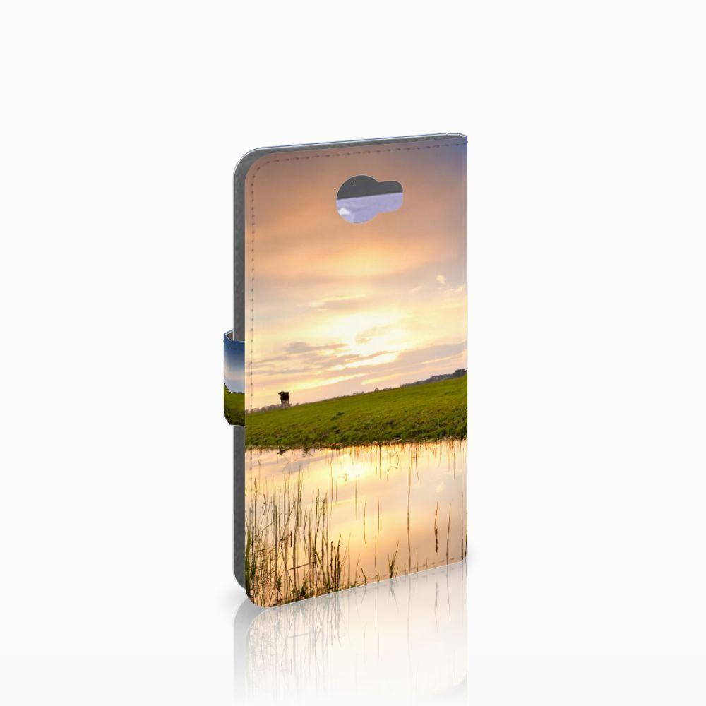 Huawei Y5 2 | Y6 II Compact Boekhoesje Design Koe