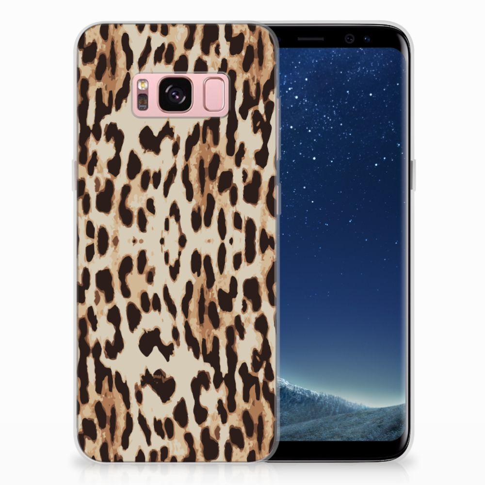 Samsung Galaxy S8 Uniek TPU Hoesje Leopard