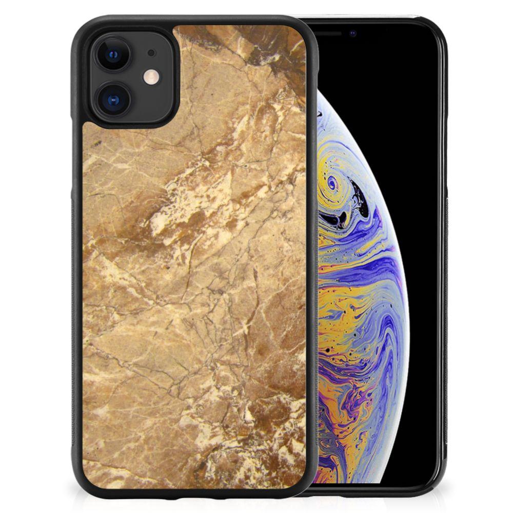 Apple iPhone 11 Gripcase Marmer Creme