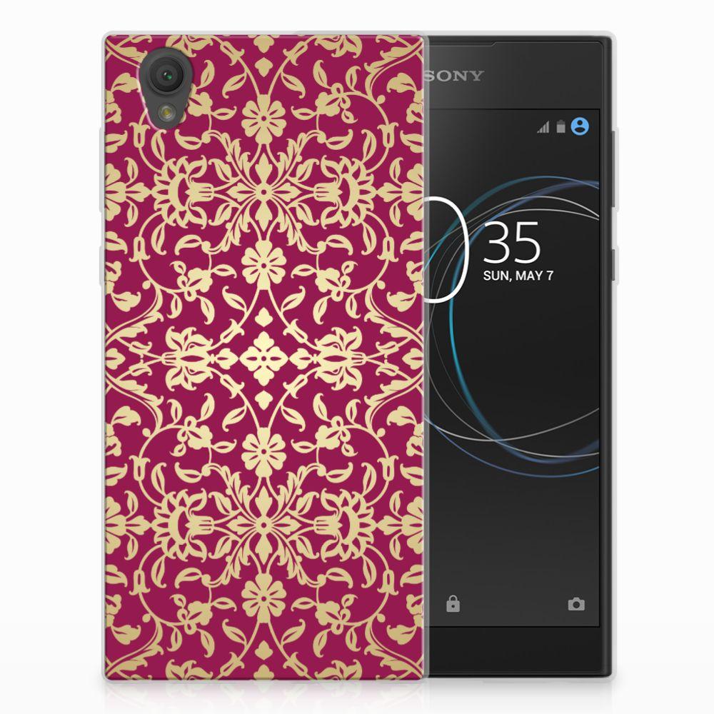 Siliconen Hoesje Sony Xperia L1 Barok Pink