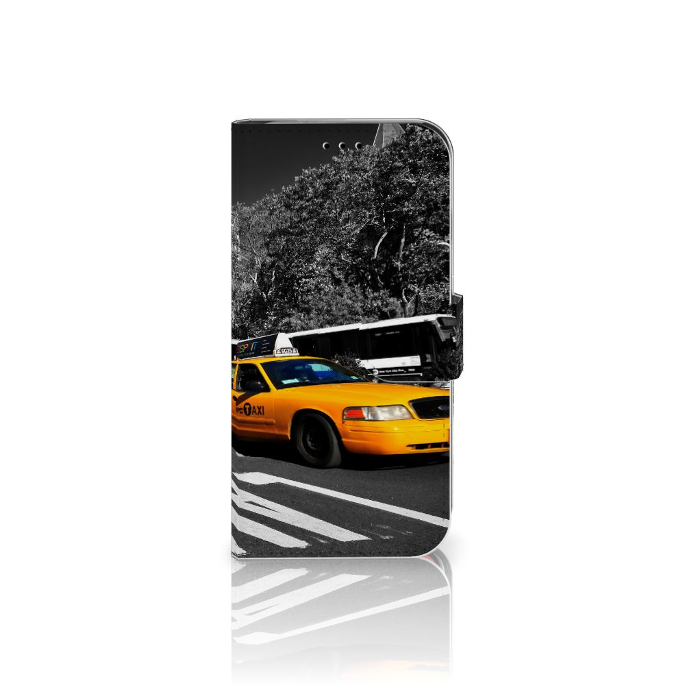 Apple iPhone X | Xs Flip Cover New York Taxi