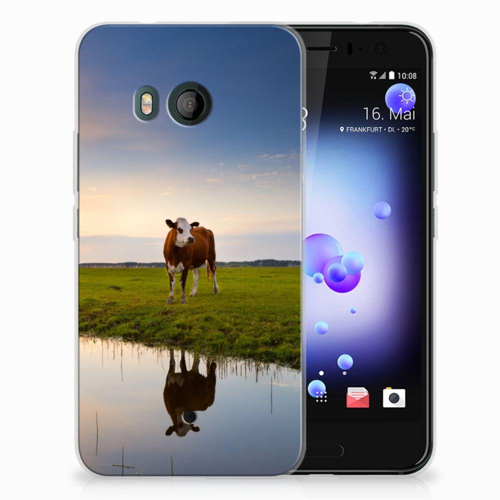 HTC U11 TPU Hoesje Design Koe