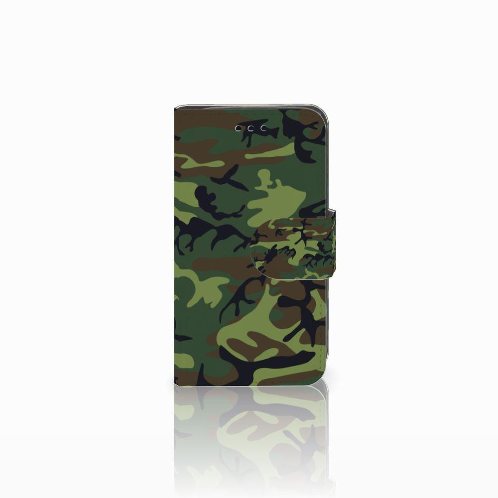 Samsung Galaxy Trend 2 Boekhoesje Design Army Dark