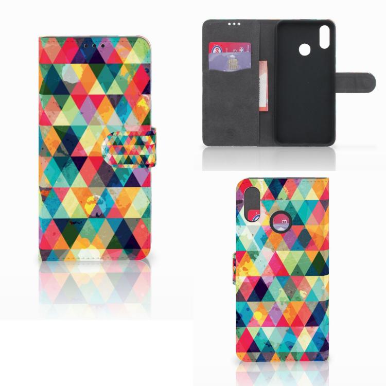 Huawei P Smart Plus Telefoon Hoesje Geruit
